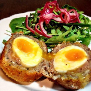 homemade scotch egg